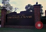 Image of Fort Lesley J McNair Washington DC USA, 1974, second 32 stock footage video 65675032281