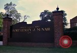 Image of Fort Lesley J McNair Washington DC USA, 1974, second 35 stock footage video 65675032281