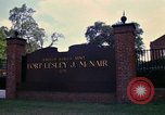 Image of Fort Lesley J McNair Washington DC USA, 1974, second 37 stock footage video 65675032281