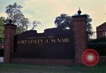 Image of Fort Lesley J McNair Washington DC USA, 1974, second 38 stock footage video 65675032281