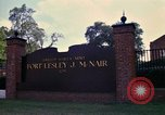 Image of Fort Lesley J McNair Washington DC USA, 1974, second 39 stock footage video 65675032281