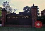 Image of Fort Lesley J McNair Washington DC USA, 1974, second 42 stock footage video 65675032281