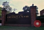 Image of Fort Lesley J McNair Washington DC USA, 1974, second 44 stock footage video 65675032281