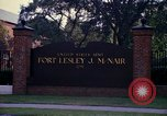 Image of Fort Lesley J McNair Washington DC USA, 1974, second 51 stock footage video 65675032281