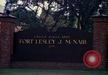 Image of Fort Lesley J McNair Washington DC USA, 1974, second 56 stock footage video 65675032281