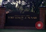 Image of Fort Lesley J McNair Washington DC USA, 1974, second 58 stock footage video 65675032281