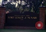 Image of Fort Lesley J McNair Washington DC USA, 1974, second 61 stock footage video 65675032281