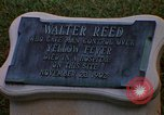Image of Walter Reed Memorial Plaque Fort Lesley J McNair Washington DC USA, 1974, second 9 stock footage video 65675032282