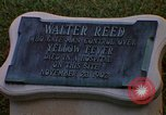 Image of Walter Reed Memorial Plaque Fort Lesley J McNair Washington DC USA, 1974, second 11 stock footage video 65675032282