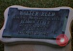 Image of Walter Reed Memorial Plaque Fort Lesley J McNair Washington DC USA, 1974, second 16 stock footage video 65675032282