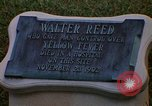 Image of Walter Reed Memorial Plaque Fort Lesley J McNair Washington DC USA, 1974, second 21 stock footage video 65675032282