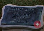 Image of Walter Reed Memorial Plaque Fort Lesley J McNair Washington DC USA, 1974, second 22 stock footage video 65675032282