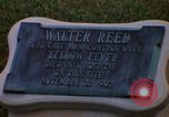 Image of Walter Reed Memorial Plaque Fort Lesley J McNair Washington DC USA, 1974, second 23 stock footage video 65675032282