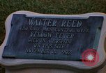 Image of Walter Reed Memorial Plaque Fort Lesley J McNair Washington DC USA, 1974, second 24 stock footage video 65675032282