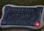 Image of Walter Reed Memorial Plaque Fort Lesley J McNair Washington DC USA, 1974, second 25 stock footage video 65675032282
