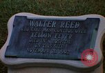 Image of Walter Reed Memorial Plaque Fort Lesley J McNair Washington DC USA, 1974, second 26 stock footage video 65675032282