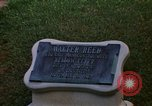 Image of Walter Reed Memorial Plaque Fort Lesley J McNair Washington DC USA, 1974, second 27 stock footage video 65675032282