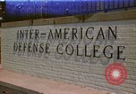 Image of  Inter-American Defense College Fort Lesley J McNair Washington DC USA, 1974, second 1 stock footage video 65675032283