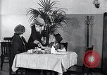 Image of disease causing micro-organisms and careless habits United States USA, 1922, second 15 stock footage video 65675032293