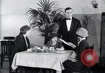 Image of disease causing micro-organisms and careless habits United States USA, 1922, second 28 stock footage video 65675032293