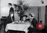 Image of disease causing micro-organisms and careless habits United States USA, 1922, second 30 stock footage video 65675032293