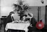 Image of disease causing micro-organisms and careless habits United States USA, 1922, second 31 stock footage video 65675032293