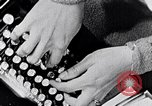 Image of hands performing various jobs late 1930s United States USA, 1937, second 9 stock footage video 65675032298