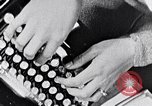 Image of hands performing various jobs late 1930s United States USA, 1937, second 11 stock footage video 65675032298