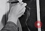 Image of hands performing various jobs late 1930s United States USA, 1937, second 56 stock footage video 65675032298
