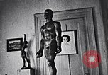 Image of full body sculpture New York City USA, 1937, second 53 stock footage video 65675032302