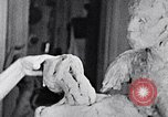 Image of Richmond Barthe designing sculpture New York City USA, 1937, second 6 stock footage video 65675032304