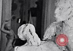Image of Richmond Barthe designing sculpture New York City USA, 1937, second 9 stock footage video 65675032304