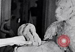 Image of Richmond Barthe designing sculpture New York City USA, 1937, second 11 stock footage video 65675032304