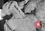 Image of Richmond Barthe designing sculpture New York City USA, 1937, second 13 stock footage video 65675032304