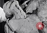 Image of Richmond Barthe designing sculpture New York City USA, 1937, second 18 stock footage video 65675032304