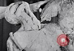 Image of Richmond Barthe designing sculpture New York City USA, 1937, second 19 stock footage video 65675032304