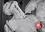 Image of Richmond Barthe designing sculpture New York City USA, 1937, second 20 stock footage video 65675032304