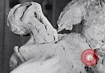 Image of Richmond Barthe designing sculpture New York City USA, 1937, second 21 stock footage video 65675032304