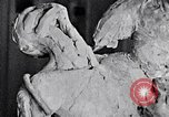 Image of Richmond Barthe designing sculpture New York City USA, 1937, second 24 stock footage video 65675032304