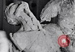 Image of Richmond Barthe designing sculpture New York City USA, 1937, second 25 stock footage video 65675032304
