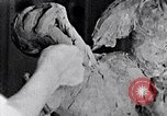 Image of Richmond Barthe designing sculpture New York City USA, 1937, second 31 stock footage video 65675032304