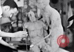 Image of Richmond Barthe designing sculpture New York City USA, 1937, second 34 stock footage video 65675032304