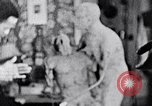Image of Richmond Barthe designing sculpture New York City USA, 1937, second 36 stock footage video 65675032304