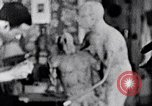 Image of Richmond Barthe designing sculpture New York City USA, 1937, second 38 stock footage video 65675032304