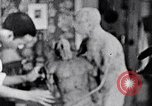 Image of Richmond Barthe designing sculpture New York City USA, 1937, second 39 stock footage video 65675032304
