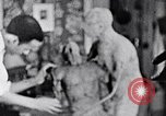 Image of Richmond Barthe designing sculpture New York City USA, 1937, second 40 stock footage video 65675032304