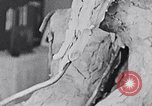 Image of Richmond Barthe designing sculpture New York City USA, 1937, second 45 stock footage video 65675032304