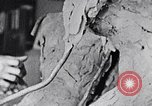 Image of Richmond Barthe designing sculpture New York City USA, 1937, second 51 stock footage video 65675032304