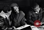 Image of child artists and paintings New York City USA, 1937, second 53 stock footage video 65675032313