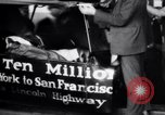 Image of ten millionth Model T Ford Highland Park Michigan USA, 1924, second 13 stock footage video 65675032318